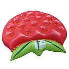 Пляжный надувной матрас - плот Клубника, диаметр 1,4*1,4m, фото 8