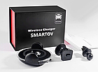 Автомобильный держатель для телефона Smartov Car Chargher | беспроводное зарядное устройство в автомобиль, фото 7