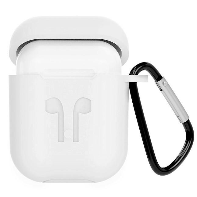 Силиконовый чехол с карабином Headset Slab для бокса AirPods