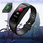 Фитнес браслет Goral Y5 | Умные часы | Черный, фото 4