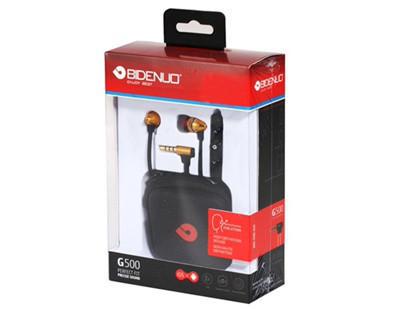 Наушники проводные BIDENUO G500 | Вакуумные наушники гарнитура