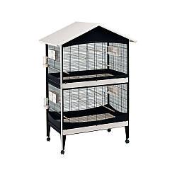 Вольер-клетка для небольших,средних птиц:попугаев, канареек, амадин DUETTO FERPLAST-ФЕРПЛАСТ