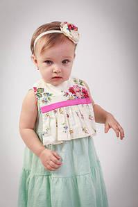 Детская повязка на голову для девочки