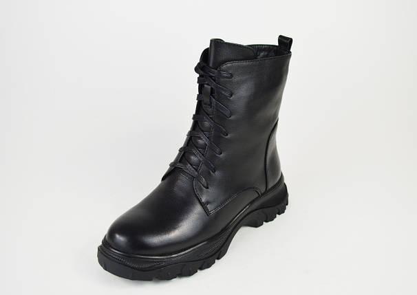 Ботинки зимние кожаные малых размеров Erises 0935, фото 2