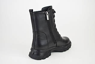 Ботинки зимние кожаные малых размеров Erises 0935, фото 3