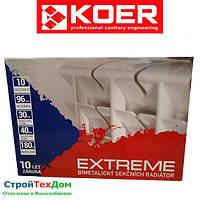 Биметаллический радиатор EXTREME 500Х96 KOER