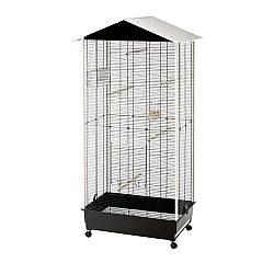 Вольєр для канарок і дрібних птахів NOTA FERPLAST (Ферпласт), 76,5 x 57 x h 161,5 см