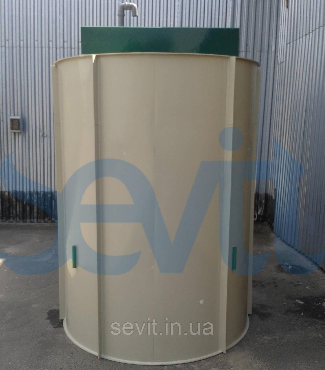 Станция биологической очистки сточных вод BioProtec F-15,0 усиленный корпус для монтажа в грунт