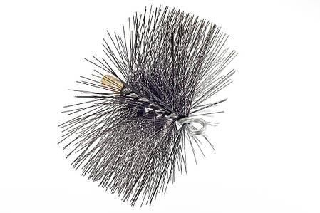 Щетка (ерш) металлическая для чистки дымохода Savent 250 мм, фото 2