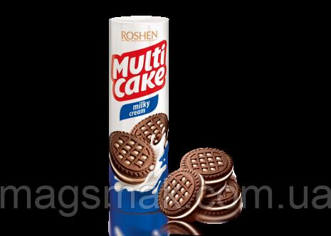 Печенье - сендвич Roshen Multicake c молочной начинкой, 180 г, фото 2