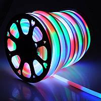 Светодиодный неон RGB разноцветный 12v 15w Премиум