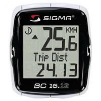 Велоаксессуары:Велокомпютеры:Sigma:Велокомпьютер Sigma BC 16.12