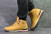 Мужские зимние кроссовки в стиле Timberland, песочные 41 (26,5 см)
