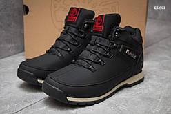 Мужские зимние кроссовки в стиле Timberland, серые 43 (26,9 см)