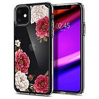 Чехол Spigen для iPhone 11 Ciel, Red Floral (076CS27215), фото 1