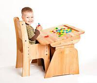 Комплект: парта + стул (70см) и (90 см).Для детей от 2х до 18 лет., фото 1