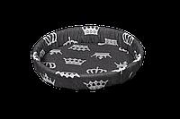 Лежак (лежанка) для домашних животных №1 Мур-Мяу Серый