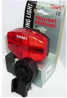 Велоаксессуары:Фары, мигалки:Smart:Фонарь задний Smart 5 Red LEDs + Reflector TL261R-01