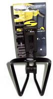 Велоаксессуары:Флягодержатель:Simpla:Флягодержатель SIMPLA Alu-Star blackmatt 56г