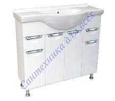 Тумбы с умывальником для ванной комнаты серии Грация