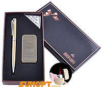 Подарочный набор ручка/зажигалка Jack Daniel's (Турбо пламя) №RJ-7400A