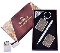 Подарочный набор Ковбои Ручка/ Брелок/ Зажигалка №AL-203B-4