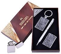 Подарочный набор Орел Ручка/ Брелок/ Зажигалка №AL-203C-4