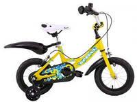 "Велосипеды:Детские:Spelli:Велосипед PONY 12"" желтый 2014"