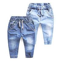 Детская джинсовая одежда для мальчиков и девочек осень/зима 2019