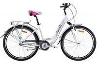 "Велосипеды:Женские:Spelli:Велосипед Spelli City 28"" Nexus3 белый 2014"