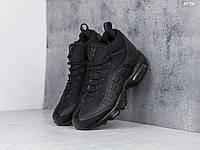 Мужские зимние кроссовки в стиле Nike Air Max 95 Sneakerboot, черные 41 (26 см)