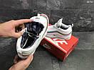 Мужские зимние кроссовки на меху в стиле Nike 97, белые 44 (28,3 см), фото 5