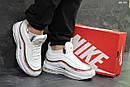 Мужские зимние кроссовки на меху в стиле Nike 97, белые 44 (28,3 см), фото 6