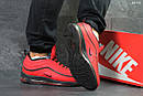 Мужские зимние кроссовки на меху в стиле Nike 97, красные 44 (28,3 см), фото 2