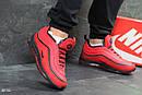 Мужские зимние кроссовки на меху в стиле Nike 97, красные 44 (28,3 см), фото 3