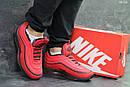Мужские зимние кроссовки на меху в стиле Nike 97, красные 44 (28,3 см), фото 6