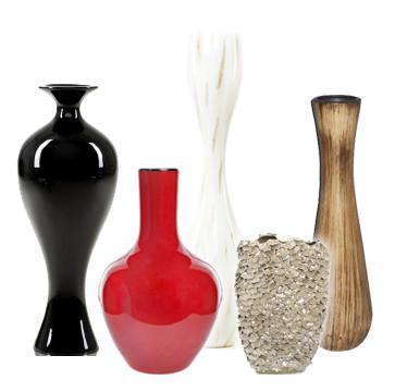 Вазы стекло или керамика