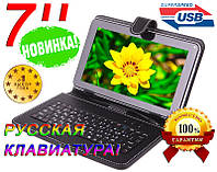 Чехол с КЛАВИАТУРОЙ 7 micro USB, РУССКИЙ, ОРИГИНАЛ