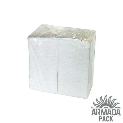 Салфетка барная белая 350 шт/ уп