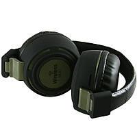 Наушники Bluetooth/MP3/FM-radio AZ-11 зеленый
