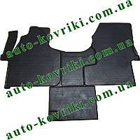 Резиновые коврики в салон Mercedes Sprinter 2006- (1+1) (Stingray)