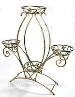 Подставка для цветов и вазонов тюльпан Т 4 (на 4 вазона)