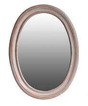 Дзеркало Атол Флоренція персик (white), 740х30х960 мм