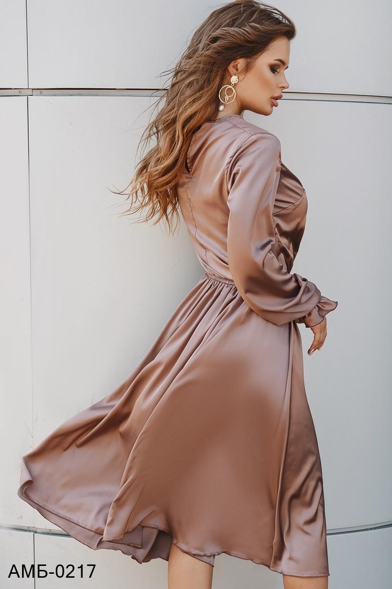 Невероятно красивое шелковое женское платье Разные цвета С, М +большие размеры