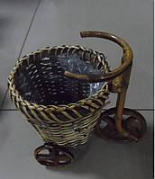 Кашпо для цветов Велосипед К11.006