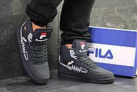 Мужские зимние кроссовки в стиле Fila Tourissimo, 41 (26,5 см)
