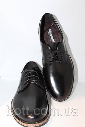 Кожаные черные туфли, фото 2