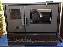 Чугунная печь для дома DUVAL ЕК-4020 с духовкой, фото 3
