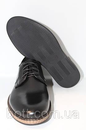 Кожаные черные туфли, фото 3