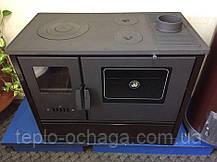 Чугунная печь для дома DUVAL ЕК-4020 с духовкой, фото 2